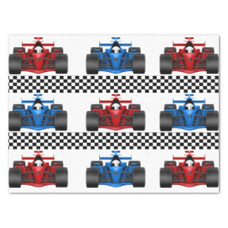 Race Cars Tissue Paper