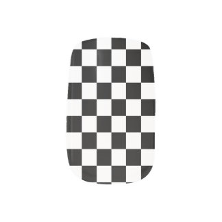 Race Day Checkered Flag Winners Circle Minx® Nail Wraps