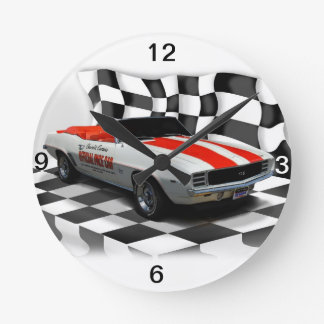Race Day Round Clock