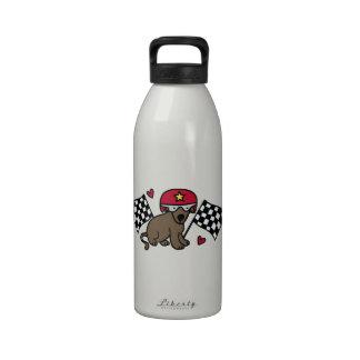 Race Dog Reusable Water Bottles