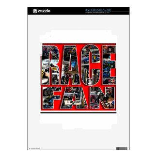 RACE FAN iPad 2 SKIN