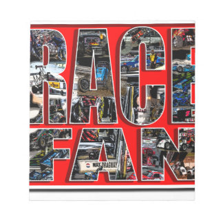RACE FAN NOTEPAD