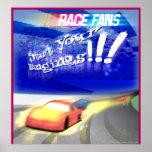 race fan print