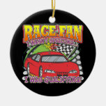 Race Fan Qualifying Christmas Tree Ornaments