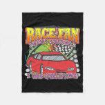 Race Fan Qualifying Fleece Blanket