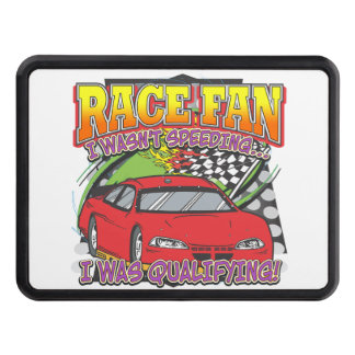Race Fan Qualifying Tow Hitch Cover