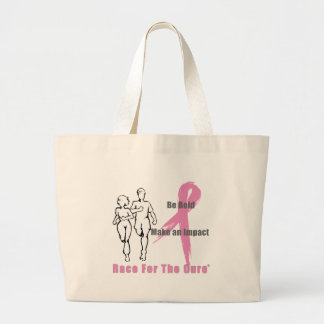 Race for a Cure Large Tote Bag