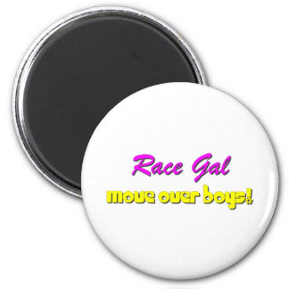 Race Gal Magnet
