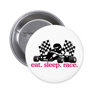 Race (Go Kart) Button