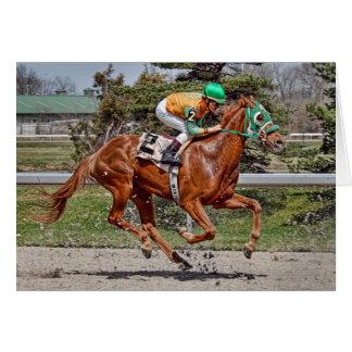 Race Horse #2 Card