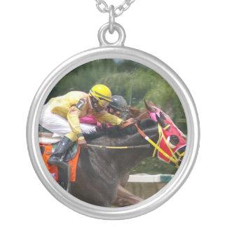 race-horse-8 colgante redondo