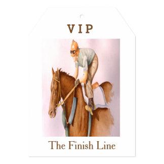 Race Horse and Jockey Card
