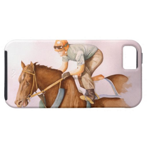 Race Horse and Jockey iPhone 5 Covers