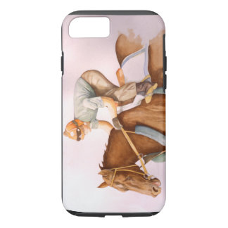 Race Horse and Jockey iPhone 7 Case