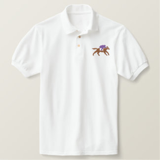 RACE HORSE EMBROIDERED SHIRT