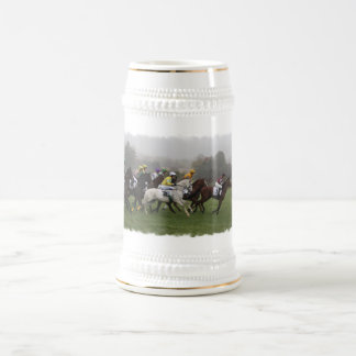 Race Horse Field Beer Stein