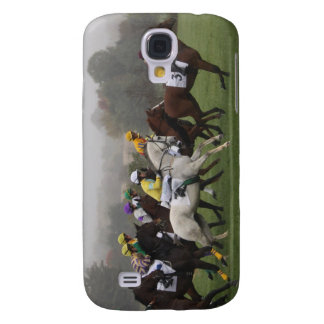 Race Horse Field iPhone 3G Case Samsung Galaxy S4 Covers