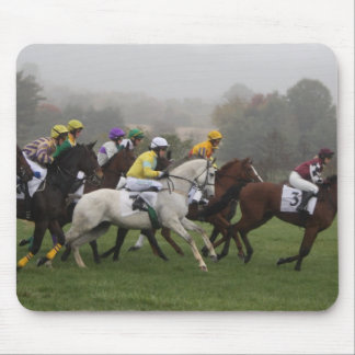 Race Horse Field Mouse Pad