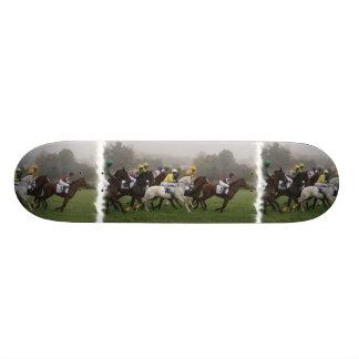 Race Horse Field Skateboard