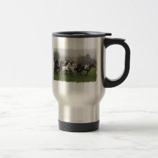 Race Horse Field Stainless Travel Mug