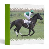 Race Horse Galloping  Binder