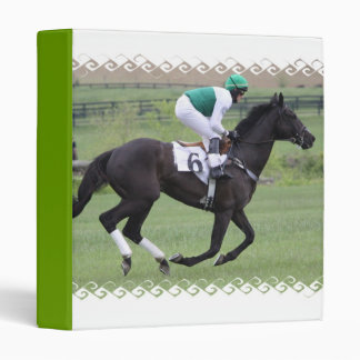 Race Horse Galloping  Binder