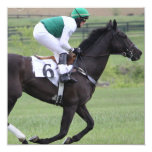 Race Horse Galloping  Invitations