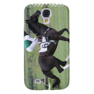 Race Horse Galloping iPhone 3G Case Samsung Galaxy S4 Cases