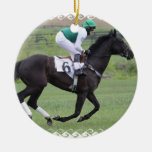 Race Horse Galloping  Ornament