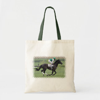 Race Horse Galloping  Small Tote Bag