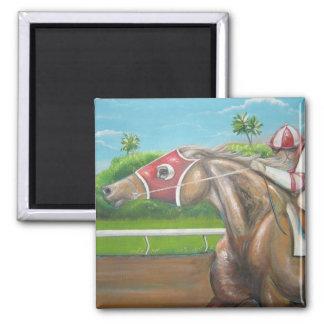 Race Horse  Magnet
