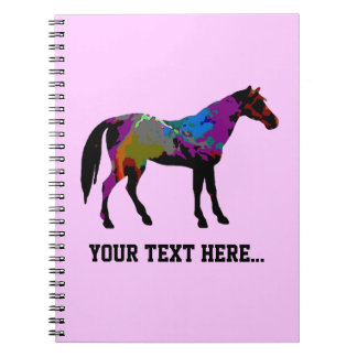 Race Horse Personalised Notebook