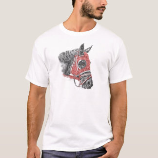 Race Horse Portrait Silks T-Shirt