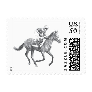 Race Horse Stamps