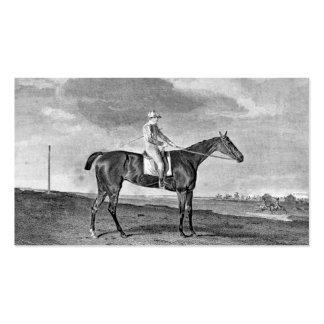Race Horse Vintage Art Business Card