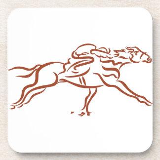 Race Horses Drink Coaster