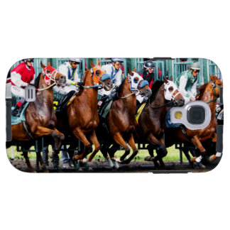 Race Horses Starting Gate Galaxy S4 Case