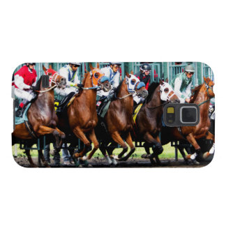 Race Horses Starting Gate Galaxy S5 Case
