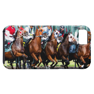 Race Horses Starting Gate iPhone 5 Case