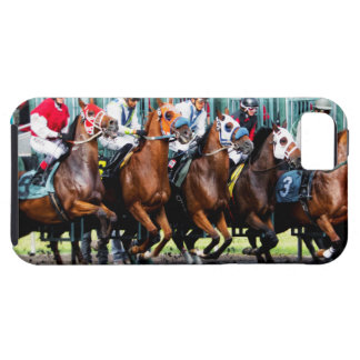 Race Horses Starting Gate iPhone 5 Cover