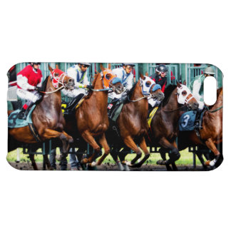 Race Horses Starting Gate iPhone 5C Cases