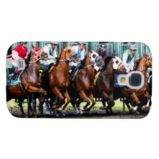 Race Horses Starting Gate Samsung Galaxy S4 Cover