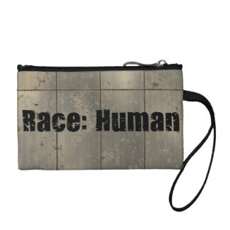 Race Human Coin Wallets