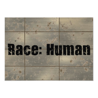 Race: Human Card