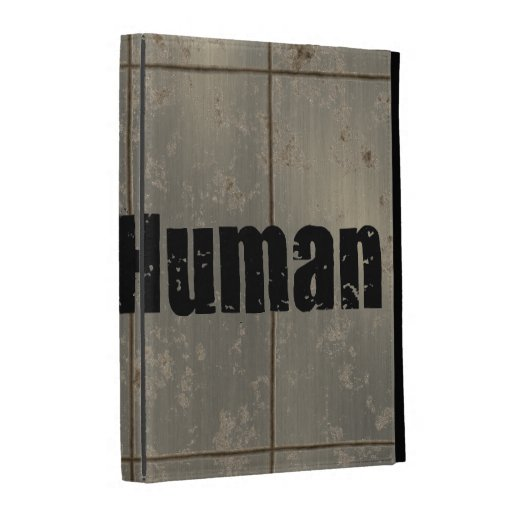Race: Human iPad Folio Cases