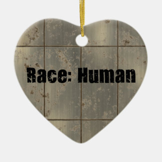 Race: Human Ceramic Ornament