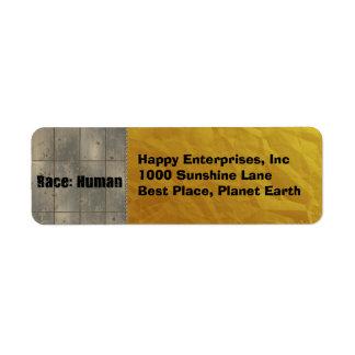 Race: Human Label