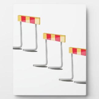 Race Hurdles Plaques