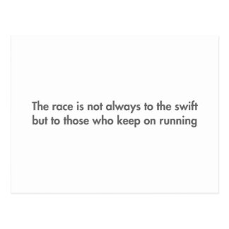 race-is-not-always-to-the-swift-fut-gray.png tarjeta postal