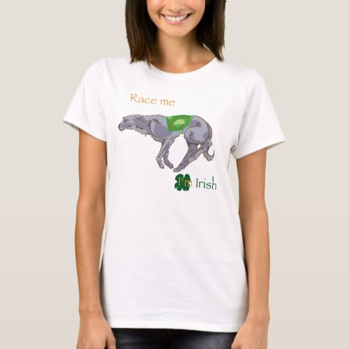 Race Me Im Irish T_Shirt